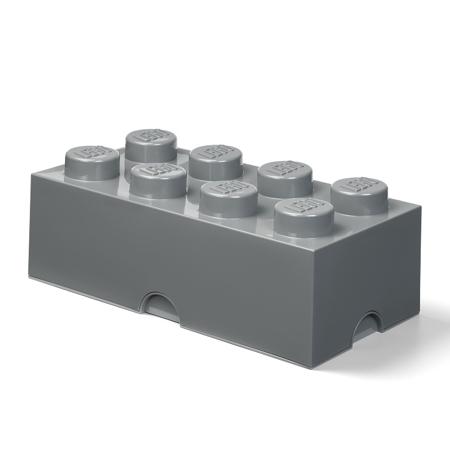 Slika za Lego® Kutija za pohranjivanje 8 Dark Grey