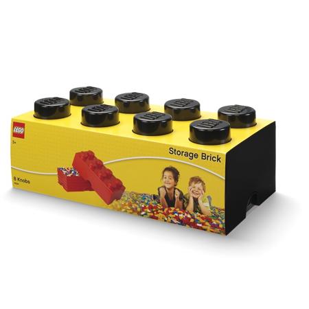 Slika za Lego® Kutija za pohranjivanje 8 Black