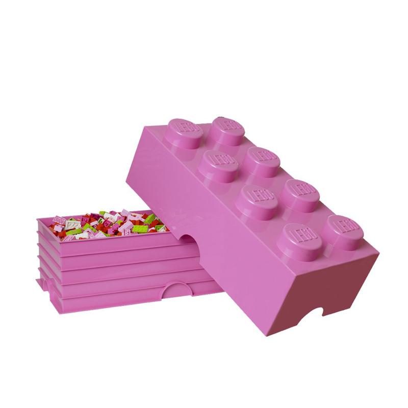 Slika za Lego® Kutija za pohranjivanje 8 Bright Purple
