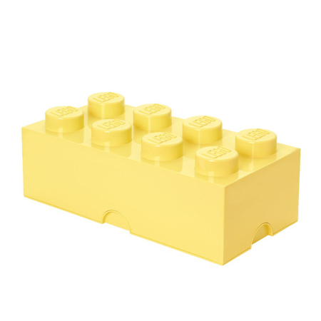Slika za Lego® Kutija za pohranjivanje 8 Cool Yellow