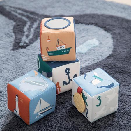 Sebra® Mekane kocke Seven Seas 4 komada