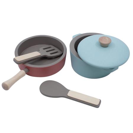 Slika za Sebra® Drveni set za kuhanje Warm Grey
