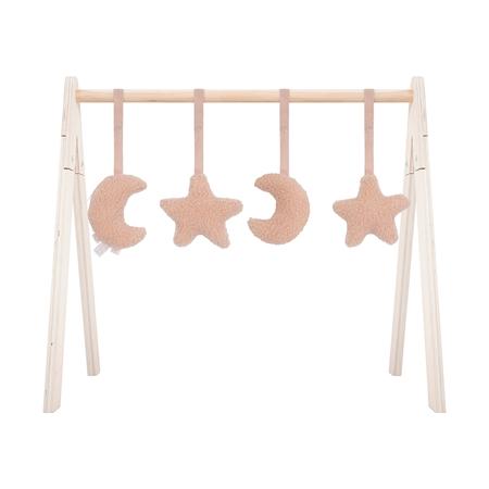 Slika za Jollein® Dodatak didaktičkih igračaka centru za igru Moon Pale Pink
