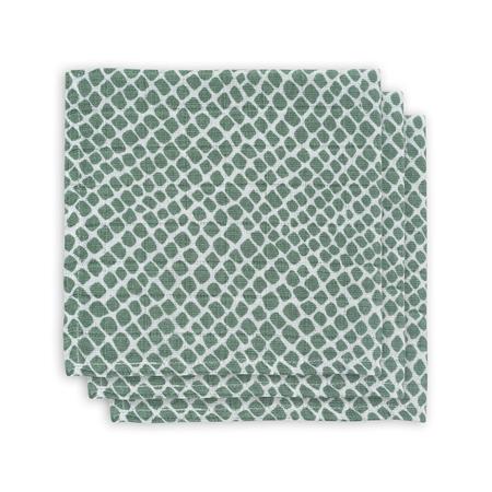 Slika za Jollein® Komplet 3 tetra pelene Snake Ash Green 31x31