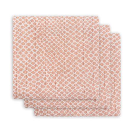 Slika za Jollein® Višenamjenske krpice Snake Pale Pink 70x70
