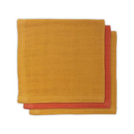 Slika za Jollein® Komplet 3 tetra pelene Mustard Rust 31x31
