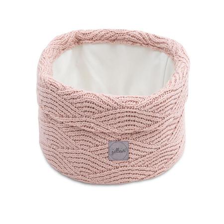 Slika za Jollein® Košara za pohranjivanje stvarčica River Knit Pale Pink