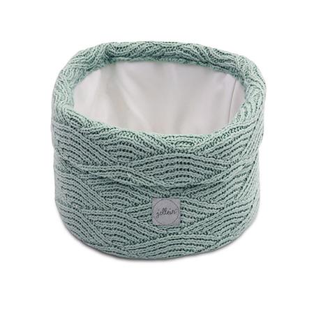 Slika za Jollein® Košara za pohranjivanje stvarčica River Knit Ash Green