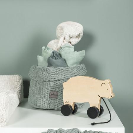 Slika za Jollein® Košara za pohranjivanje stvarčica River Knit Stone Green
