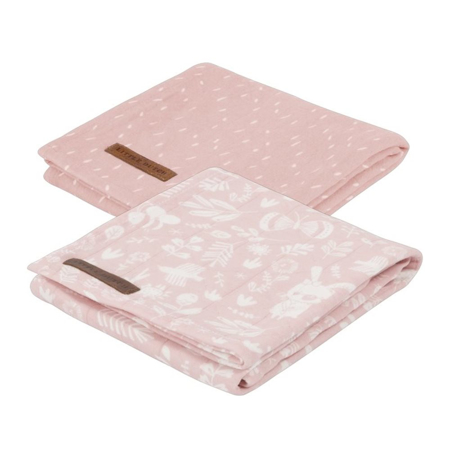 Slika za Little Dutch® Komplet 2 tetra pelene Adventure Pink 70x70