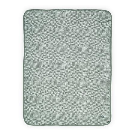 Jollein®  Pamučna dekica Snake Ash Green 75x100