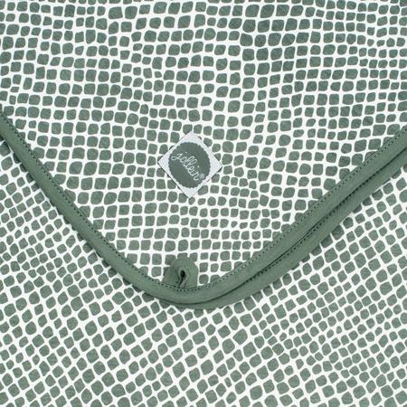 Slika za Jollein®  Pamučna dekica Snake Ash Green 75x100