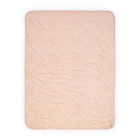Jollein®  Pamučna dekica Snake Pale Pink 75x100