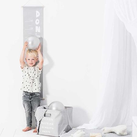 Slika za Jollein® Metar za mjerenje visine  ABC Soft Grey