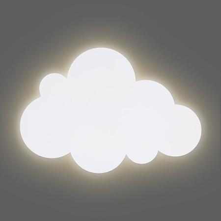 Slika za Jollein® Noćna lampa Oblačić  White