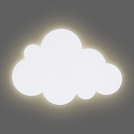 Jollein® Noćna lampa Oblačić  White