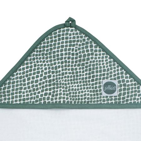 Slika za Jollein® Ručnik s kapuljačom Snake Ash Green 75x75