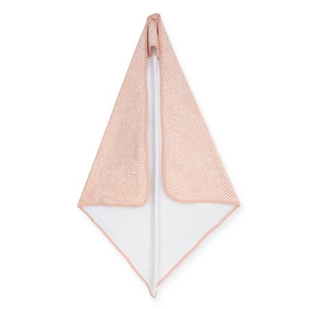 Jollein® Ručnik s kapuljačom Snake Pale Pink 75x75
