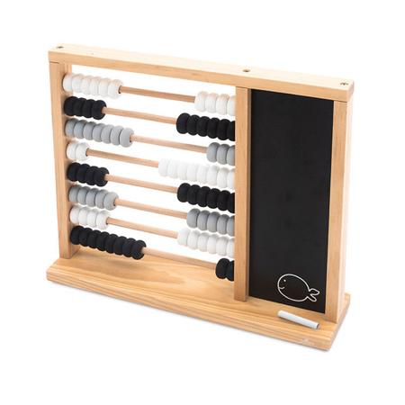 Slika za Jollein® Dječje drveno računalo Black/Grey