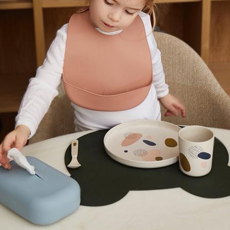 Slika za Liewood® Silikonski poklopac za vlažne maramice Emi Sea Blue