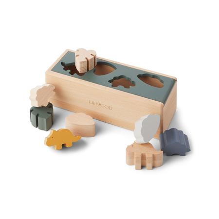 Slika za Liewood® Drvena kutija Puzzle Box Dino Mix