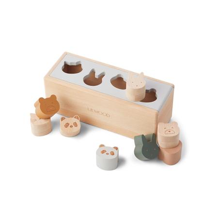 Slika za Liewood® Drvena kutija Midas Puzzle Box Classic Mix