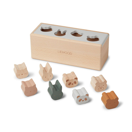 Liewood® Drvena kutija Midas Puzzle Box Classic Mix