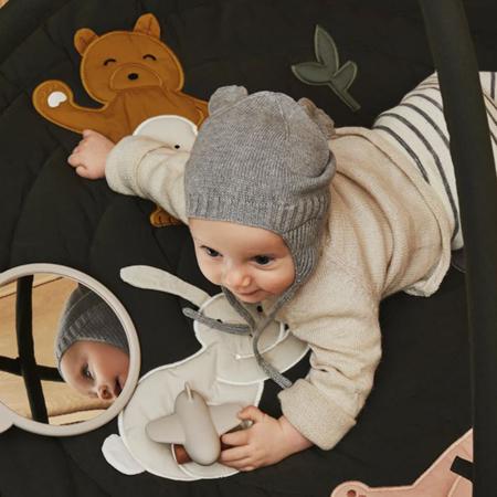 Slika za Liewood® Dječja pletena kapa Violet Grey Malange
