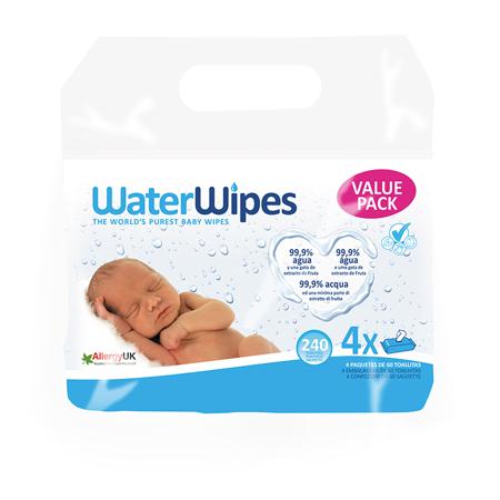 Slika za WaterWipes® Vlažne maramice 4x60/1