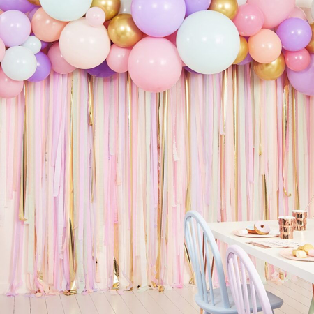 Slika za  Ginger Ray® Pozadina za fotografiranje s balonima Pastel