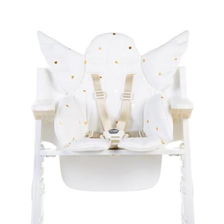 Childhome® Univerzalni jastučić za stolicu Jersey Gold Dots