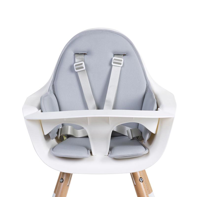 Slika za Childhome® Jastučić za sjedenje Evolu Neoprene Light Grey