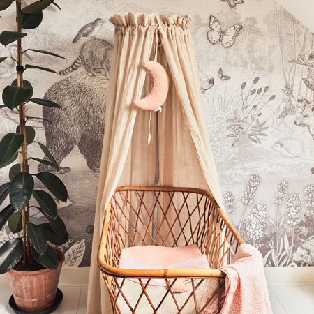 Slika za Jollein® Posteljni baldahin Vintage Blush Pink