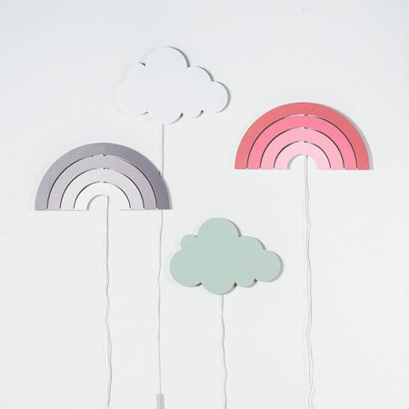 Slika za Jollein® Noćna lampa Rainbow Grey