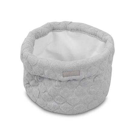 Slika za Jollein® Košara za pohranjivanje stvarčica River Knit Soft Grey