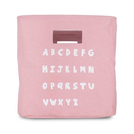 Slika za Jollein® Košara za pohranjivanje ABC Blush Pink