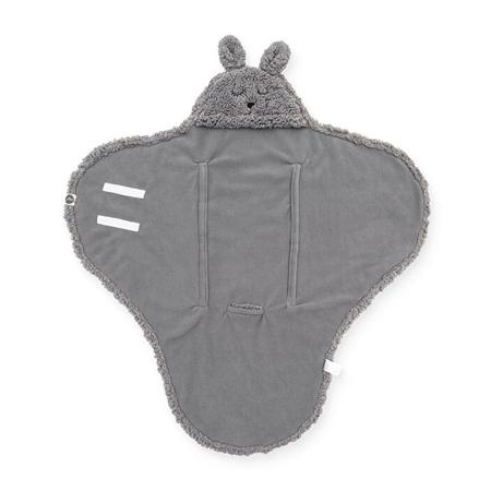 Slika za Jollein® Dekica za novorođenče Bunny Storm Grey 105x100