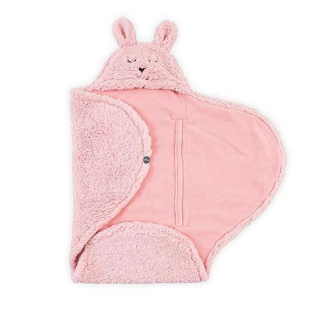 Jollein® Dekica za novorođenče Bunny Pink 105x100