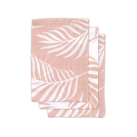 Slika za Jollein® Komplet 3 krpice za umivanje Nature Pale Pink 20x15