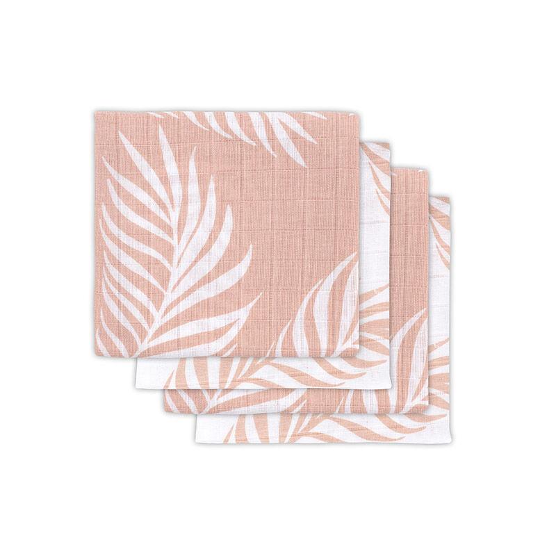Slika za Jollein® Komplet 4 tetra pelene Nature Pale Pink 70x70