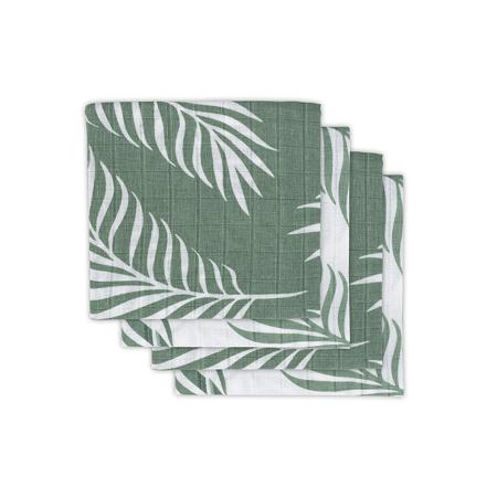 Slika za Jollein® Komplet 4 tetra pelene Nature Ash Green 70x70