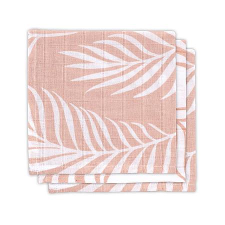 Slika za Jollein® Komplet 3 tetra pelene Nature  Pale Pink 31x31