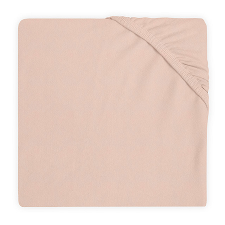 Slika za Jollein® Pamučna plahta Pale Pink 120x60