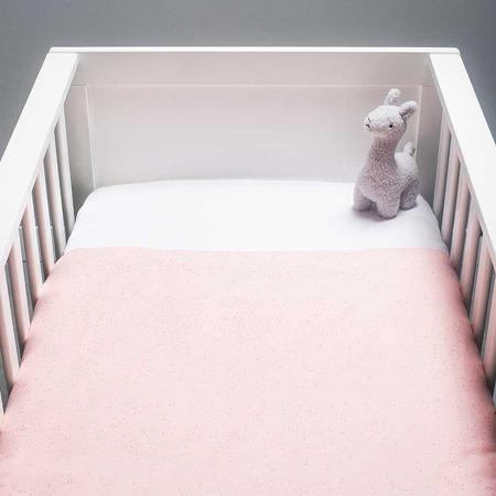 Slika za Jollein® Pamučna plahta White 2 komada 120x60