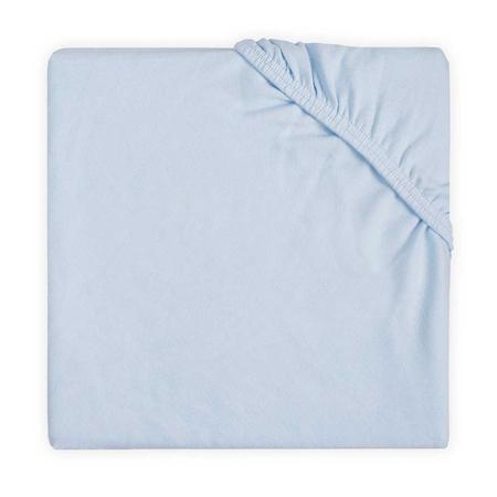 Slika za Jollein® Pamučna plahta Soft Blue 120x60