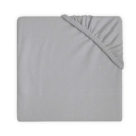 Slika za  Jollein® Pamučna plahta Soft Grey 140x70/150x75