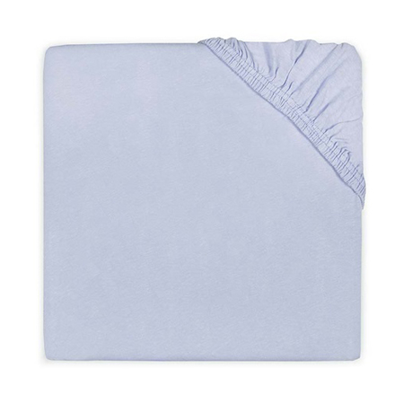 Jollein® Pamučna plahta Baby Blue 140x70/150x75
