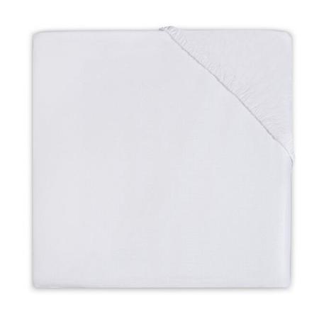Jollein® Pamučna plahta White 140x70/150x75