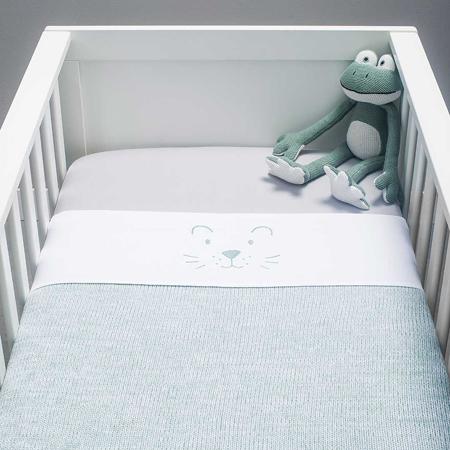 Jollein® Dječja posteljina  Stone Green 140x100