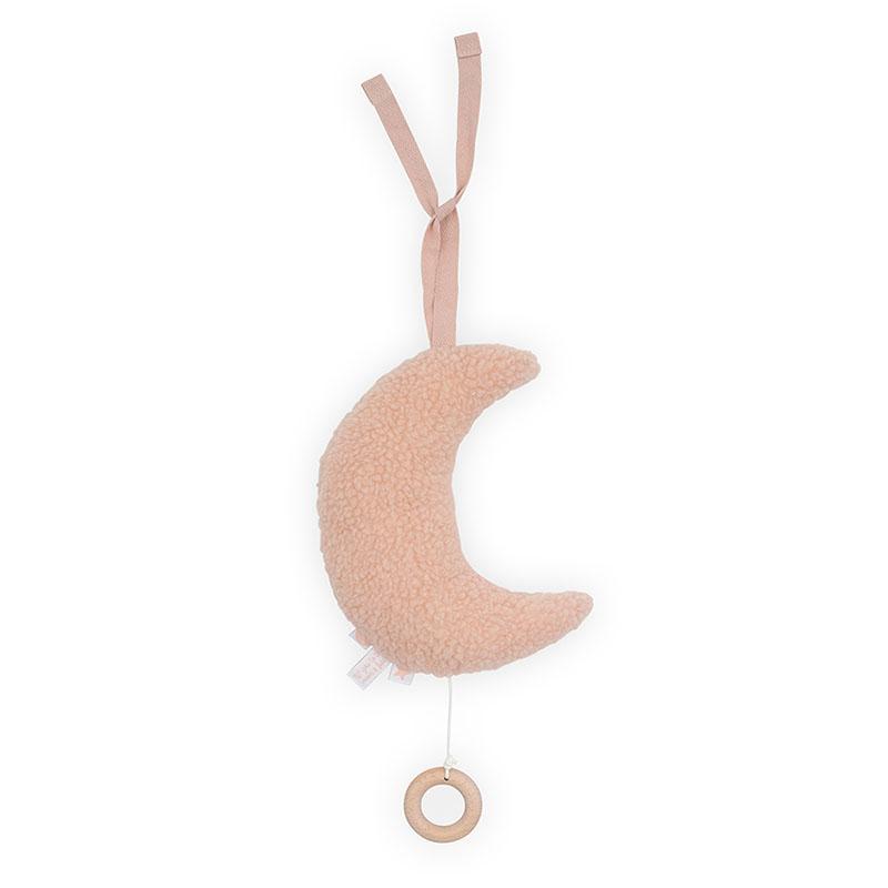 Slika za Jollein® Glazbena igračka Moon Pale Pink